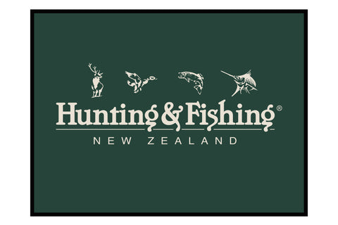 Hunting & Fishing Branded Floor Mat