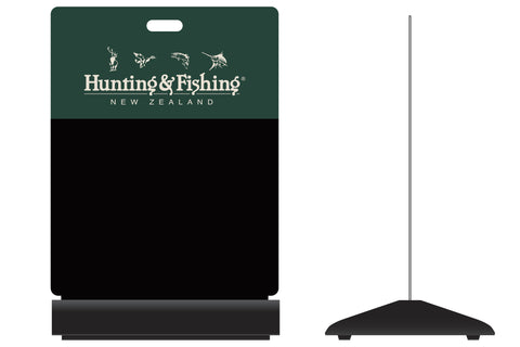 Hunting and Fishing ChalkBoard Sign.