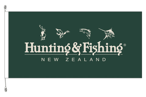 Hunting & Fishing Flag - Premium Long Life .