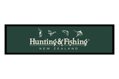 Hunting and Fishing Counter Mat.