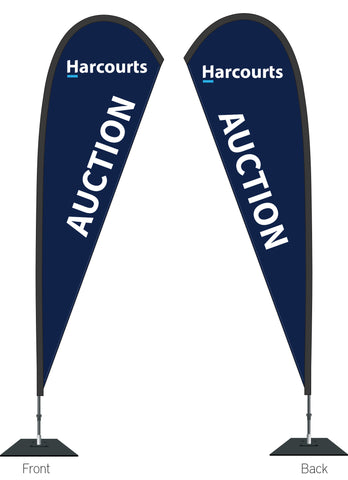 Harcourts Auction Durapole Mayfly Double Sided