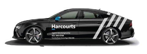 Harcourts Large Car Graphics