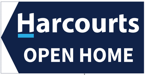 Harcourts Directional Sign Basic Coloured