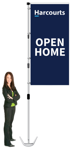 Harcourts Durapole XT Display- OPEN HOME