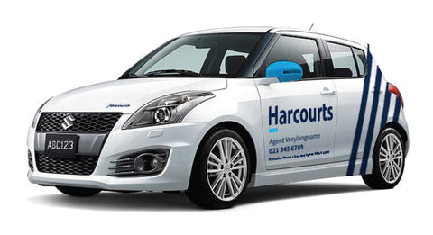 Harcourts Small Car Graphics