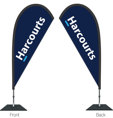 'Harcourts' Durapole Mayfly Double Sided