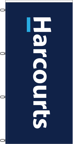 'Harcourts' Branded Durapole XT Flag Only