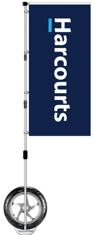 'Harcourts' Branded Durapole XT Display - Exclusive product