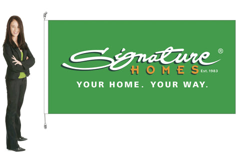 Signature Homes Branded Standard Flag