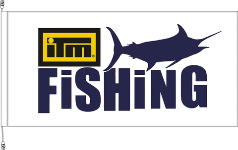 ITM Fishing Show Standard Flag