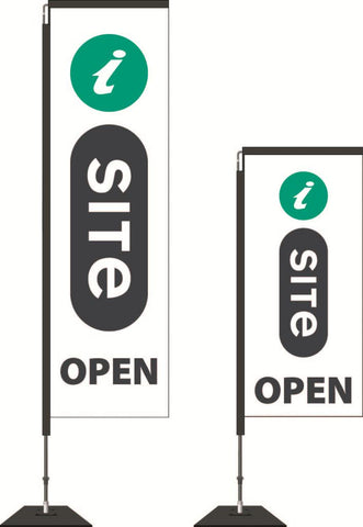 I-Site Durapole® Swing Flag and Display - Premium, High Strength