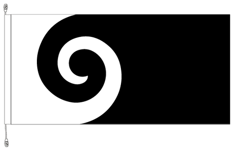 Koru flag.  An alternative New Zealand Flag - SAVE $50.00!!. Free Shipping in NZ!*