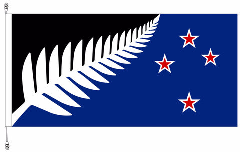 Kyle Lockwood Blue /Black Fern flag.  Premium. Free Shipping in NZ!*