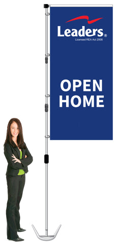 Leaders Durapole XT Display- OPEN HOME