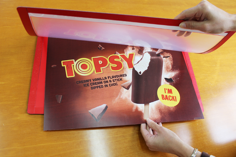 NEW!   Magnaflip. Counter Display Mat.