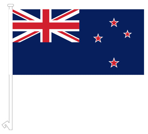 New Zealand Car flag
