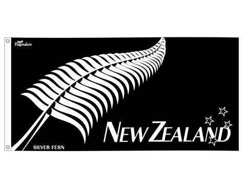 New Zealand Fern Supporters Flag