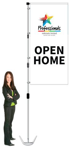 Professionals Durapole XT Display- OPEN HOME