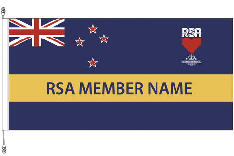 RSA Standard Flag- Premium Polybunting.  RSA Member Special