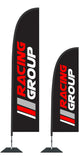 Durapole Flex Custom Brand Flag and Display