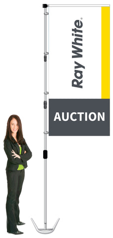 Ray White Durapole XT Display- AUCTION