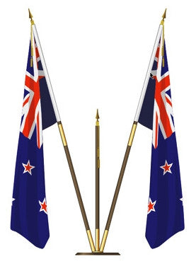 Regal Flagpole set