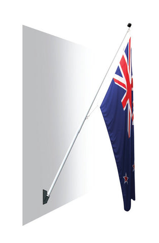 Royal Flag Pole and Flag - SPECIAL!.  Get a NZ Flag for 1/2 price!  Save $44.00!