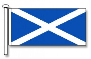 Scotland Flag (St Andrews) - Premium (with exclusive Swivel Clips). Free Shipping in NZ!*