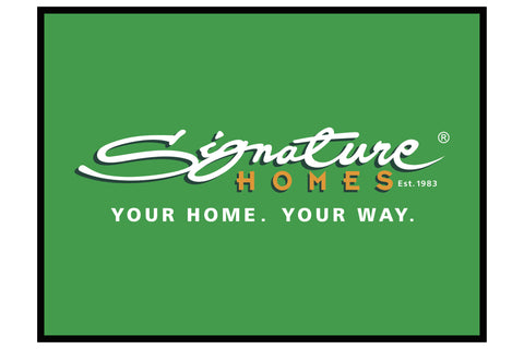 Signature Homes Branded Promotional Floor Mat