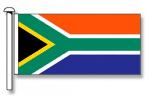 South Africa Flag - Premium (with exclusive Swivel Clips). Free Shipping on NZ!*