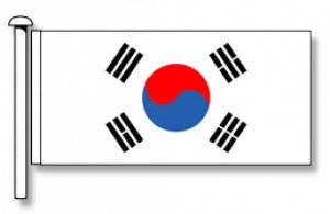 Republic of South Korea Flag