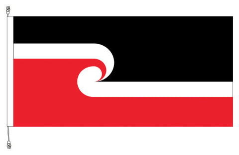 Tino Rangatiratanga Flag - Premium (with exclusive swivel clips). SAVE $10.00!