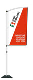 Durapole Flare Flag Display.  Compactable Pole Display System. 1/2 PRICE FLAG DEAL!