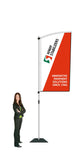 Durapole Flare Flag Display.  Compactable Pole Display System. SAVE $30.00