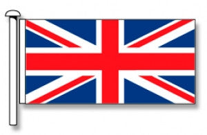 United Kingdom (Union Jack) Flag - Premium (with exclusive Swivel Clips). Free Shipping on NZ!*