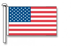 USA Flag - Premium (with exclusive Swivel Clips). Free Shipping in NZ!*