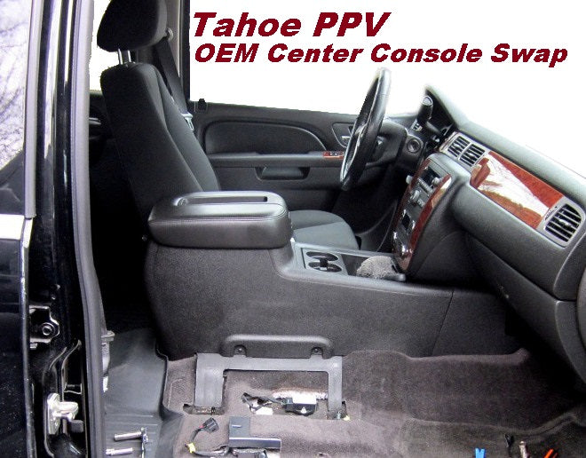making a tahoe police vehicle a civilian vehicle