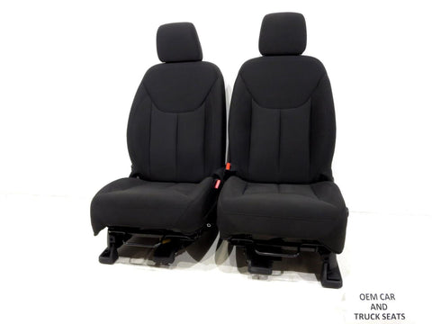 Jeep Wrangler Jk Oem Cloth Seats 2007 - 2011 2012 2013 2014 2015 2016 2017 2018