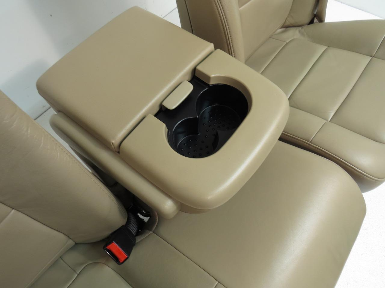 Stupendous Ford F150 F 150 Tan Leather Lariat Seats 60 40 With Integrated Seat Belt 1997 1998 1999 2000 2001 2002 2003 Lamtechconsult Wood Chair Design Ideas Lamtechconsultcom
