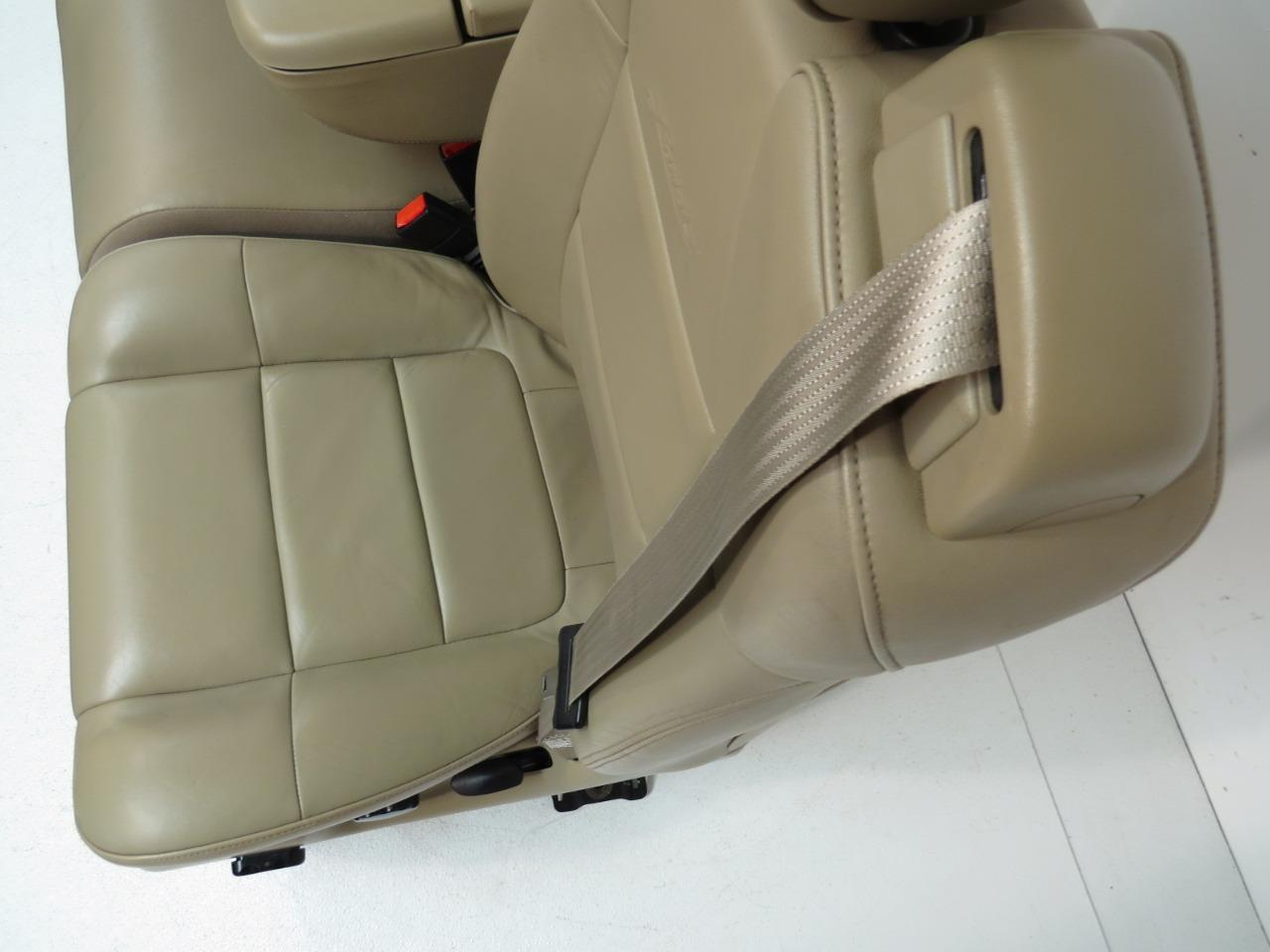 Replacement Ford F150 F 150 Tan Leather Lariat Seats 60 40