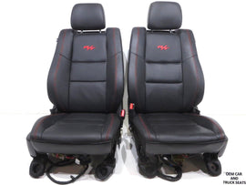 Dodge Durango R/t Leather Front Seats 2011 2012 2013 2014 2015 2016 2017 2018