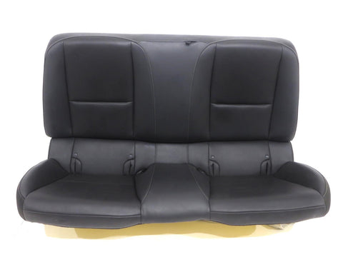 Chevy Camaro Coupe Leather Rear Back Seat 2010 2011 2012 2013 2014 2015