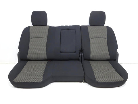 Dodge Ram Cloth Rear Seat Crew Cab 4dr 2009 2010 2011 2012 2013 2014