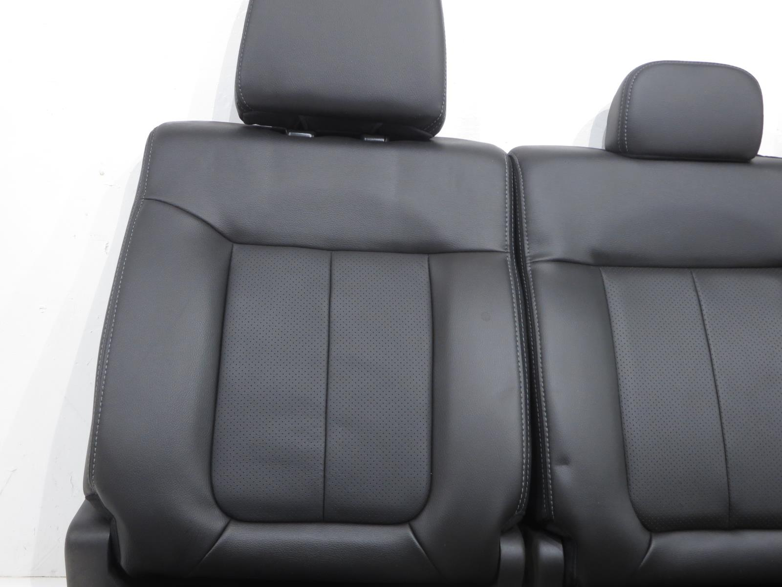 f150 seat ford rear cab crew 2009 leather