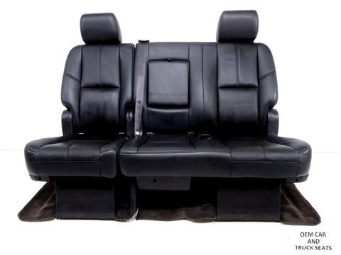Gm Suburban Yukon Xl Oem Rear Bench Seat 2007 2008 2009 2010 2011 2012 2013 2014