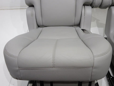 Gm Tahoe Rear Oem Leather Bucket Seats 2007 2008 2009 2010 2011 2012 2013 2014