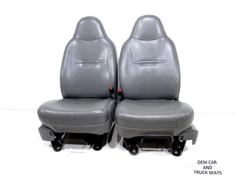 Ford Super Duty F250 F350 Oem Vinyl Seats 2001 2002 2003 2004 2005 2006 2007