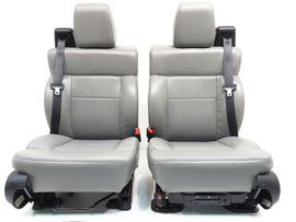 Ford F150 Grey Leather Seats F-150 2004 2005 2006 2007 2008