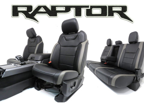 Ford Raptor Seats F150 Front Seats F 150 Rear Seat And Center Console 2015 2016 2017 2018