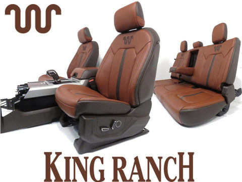 Ford King Ranch Seats F150 Front Seats Rear Seat Center Console 2015 2016 2017 2018 2019